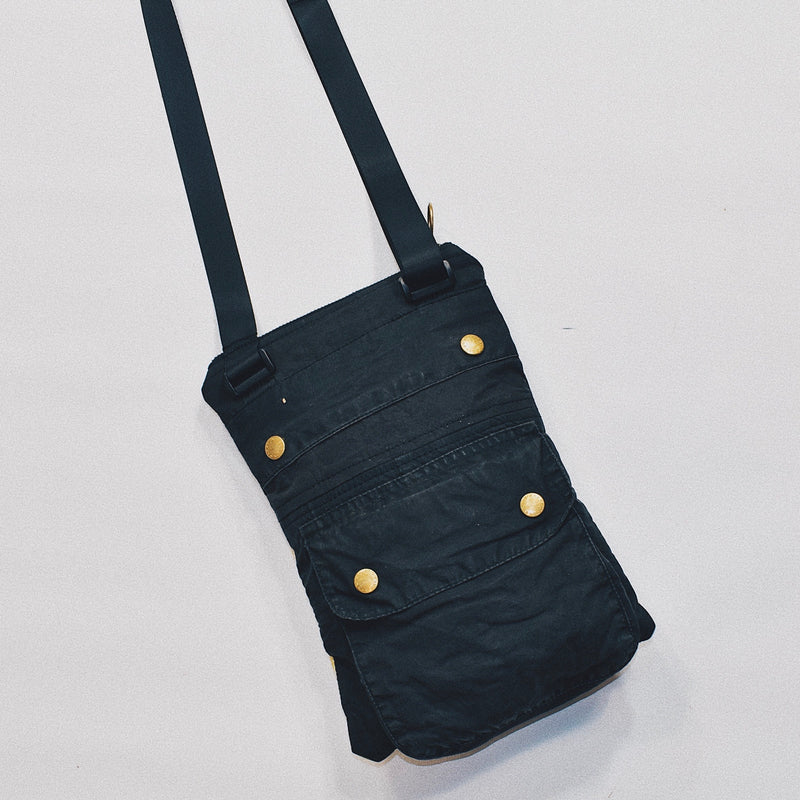 Reworked Barbour Crossbody Bag