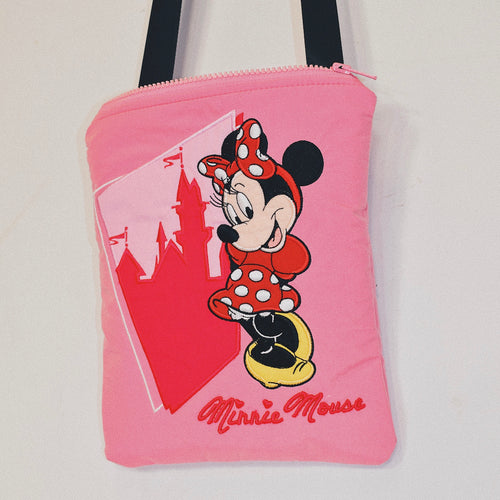 Reworked Disney Minnie Mouse Crossbody Bag