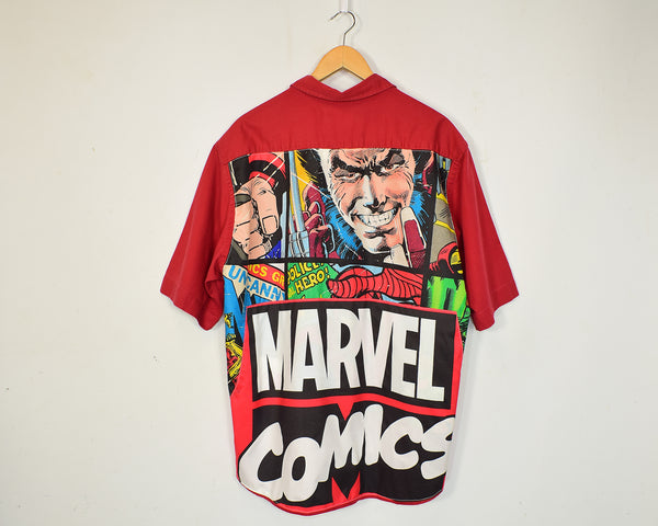 Marvel Reworked Cotton Shirt