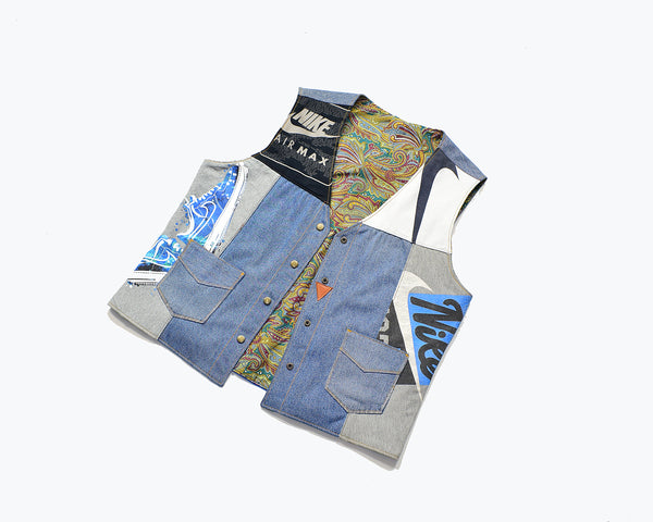 Nike Denim Gilet Jacket
