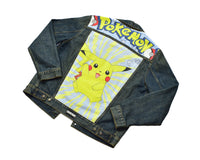 Reworked Pokemon Denim Jacket