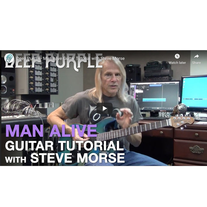 """Man Alive"" Guitar Tutorial with Steve Morse"
