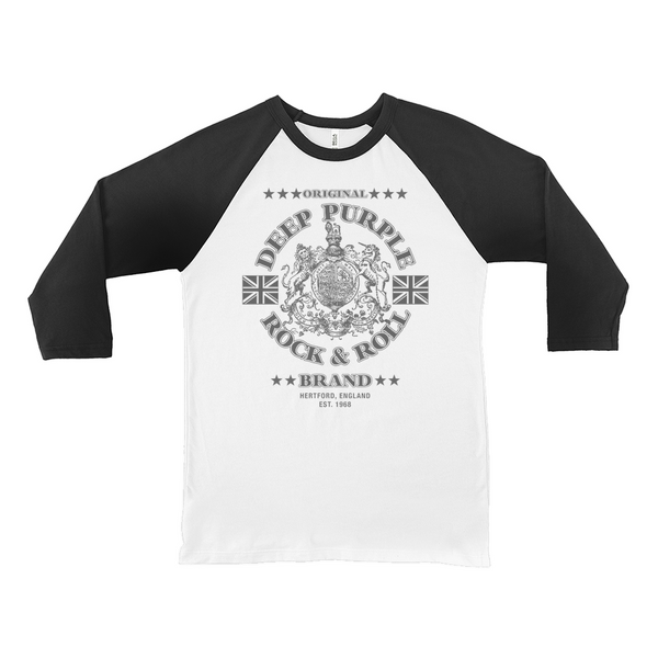 Deep Purple Rock & Roll Brand Raglan