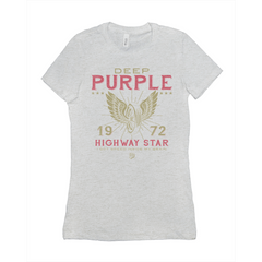 Deep Purple '72 Highway Star Ladies Tee