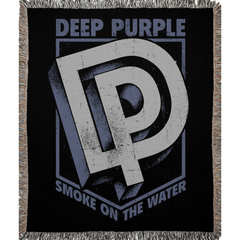 DP Smoke On The Water Logo Woven Blankets
