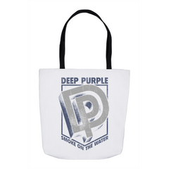 Deep Purple Smoke On The Water Shield Tote