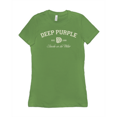Deep Purple Smoke on the Water Ladies Tee