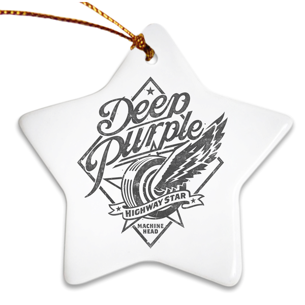 Highway Star Porcelain Ornaments