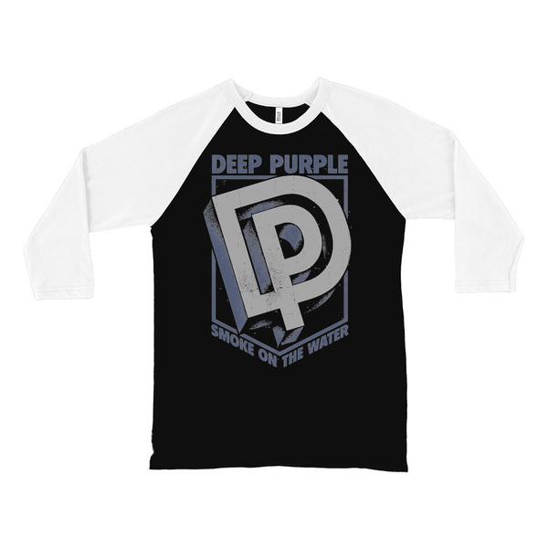 Deep Purple Smoke On The Water Shield Raglan