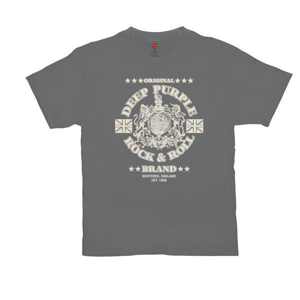 Rock & Roll Brand on Smoke Grey