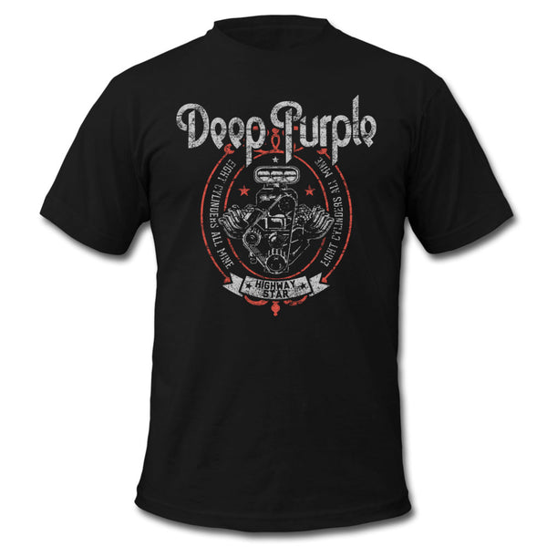 Deep Purple Highway Star Motor Tee