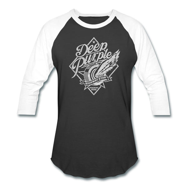 Deep Purple Highway Star Raglan