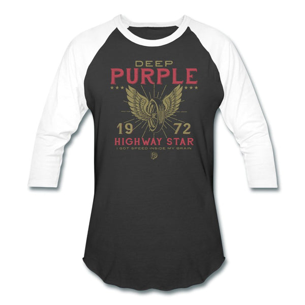 Deep Purple 1972 Highway Star Raglan