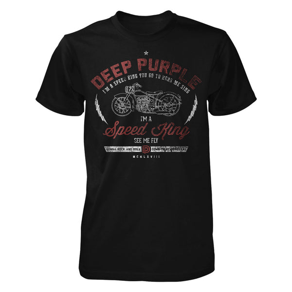Deep Purple Speed King Black Tee