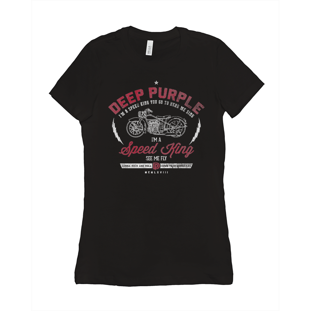 Deep Purple Speed King Ladies Tee