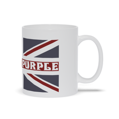 Deep Purple Hush White Mug