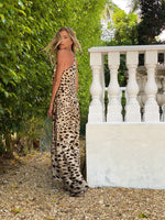 Tara Dress Cheetah - Ramona LaRue