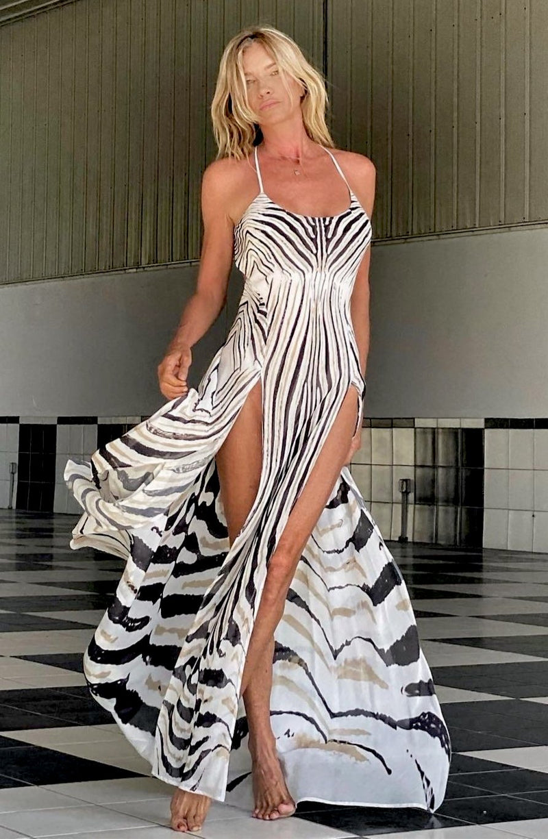 Floyd Dress Zebra