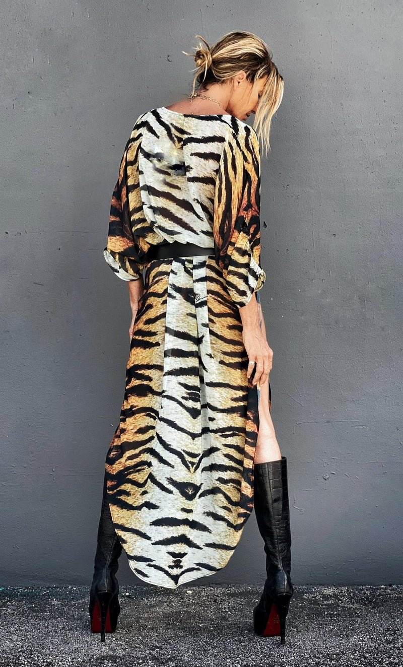 Erte Kaftan Tiger Stripes