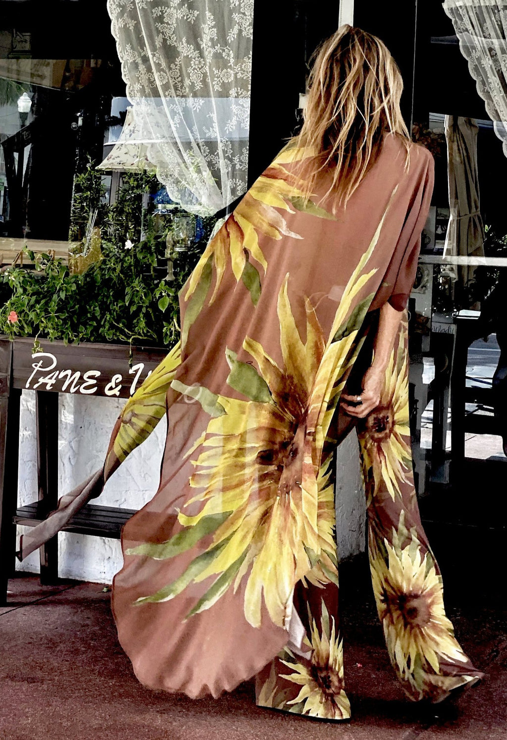 Erte Kaftan Sunflower