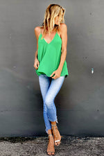 Tara Top Kelly Green