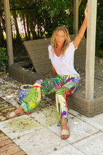 Mandy Pant Tropical - L