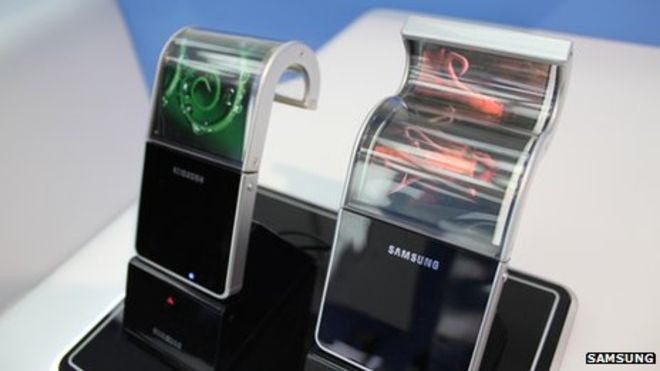 Samsung Set To Release Bending Phones