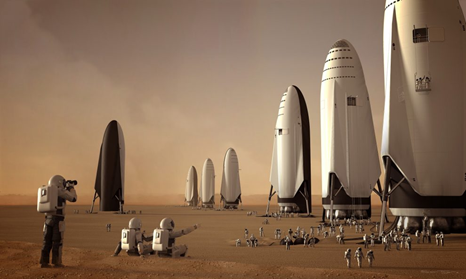 | MARS? | SpaceX's Vision Of The Future
