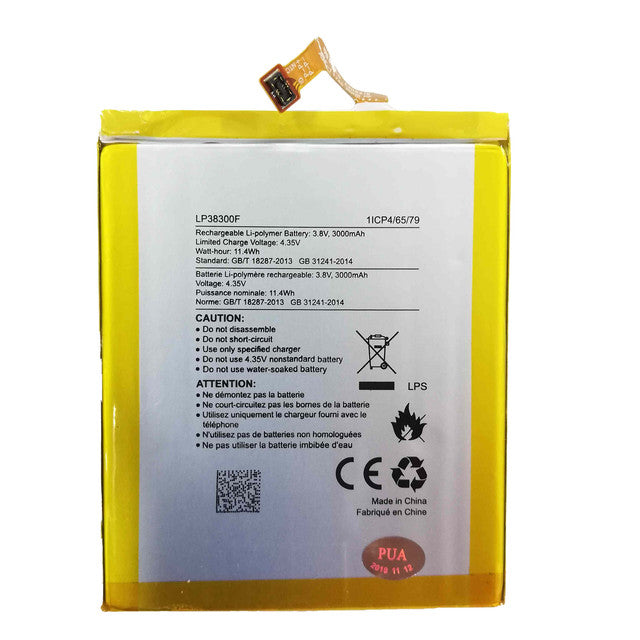 Replacement Battery for Hisense E76 LP38300F