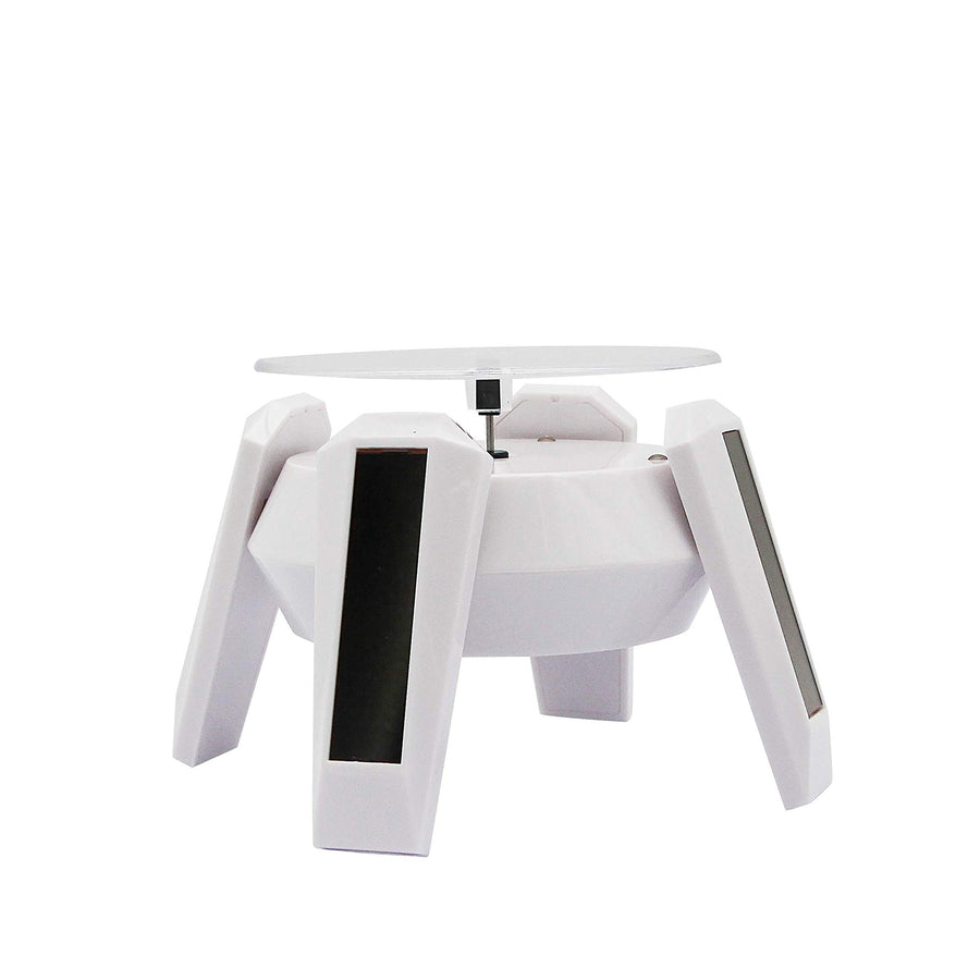 Solar Powered Display Stand Phone Watch 360° Rotating Display Stand