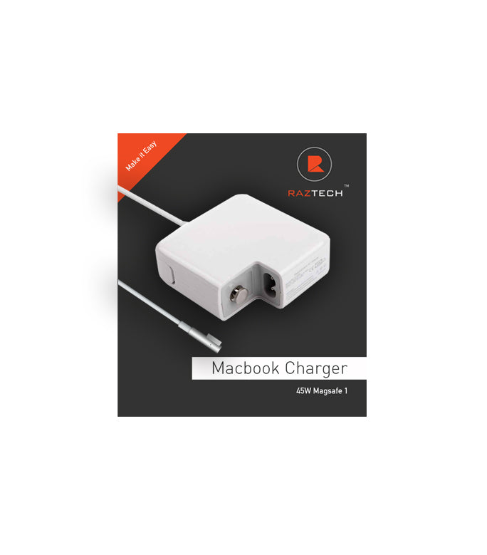 Apple Macbook - Replacement Laptop Charger  45w V2 - by Raz Tech