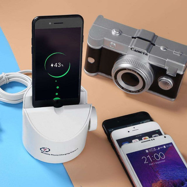 6-in-1 Charging Stand 360° Rotating Dock Station Charger - by Raz Tech