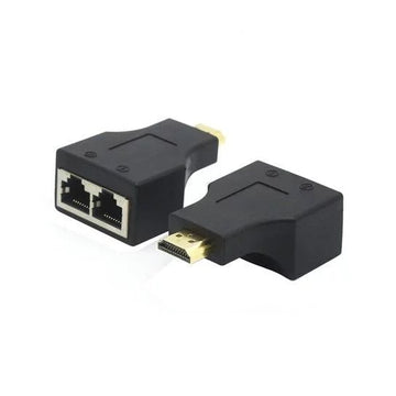 30M HDMI to RJ45 Network Extender Converter Adapter - by Raz Tech