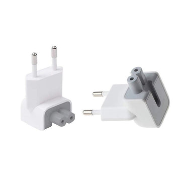 EU MagSafe Connector Mac AC Wall Adapter Head Plug Duckhead / Ducktail (Pack of x2) - by Raz Tech