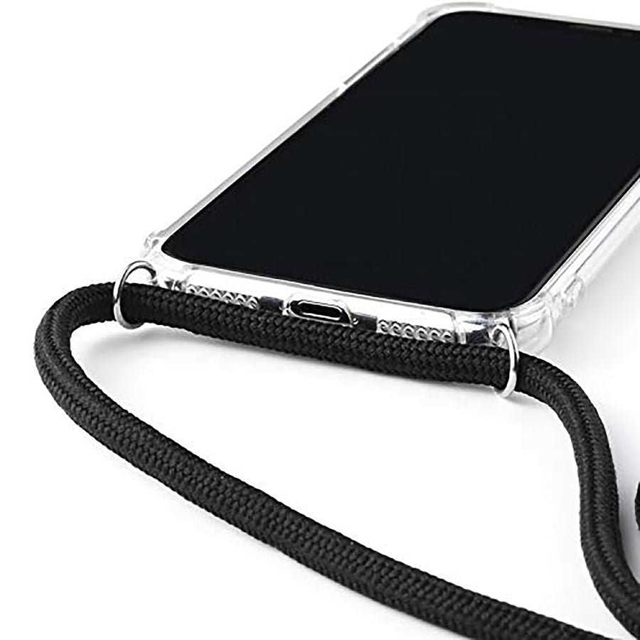 Phone Gel Case with Necklace, Strap for iPhone, Samsung and Huawei Smartphones