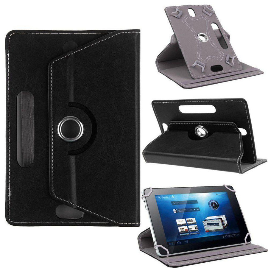 Universal 7 inch Tablet Case for All 7 inch Tablets - Black - Blue- Brown - Pink - Red - White