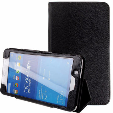 Tablet Leather Flip Case for Samsung Galaxy Tab 4 T230 / T231 - by Raz  Tech