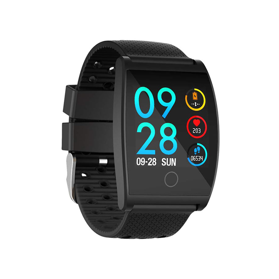 Smart Watch Heart Rate Monitor Tracker Fitness Sports Watch - Black