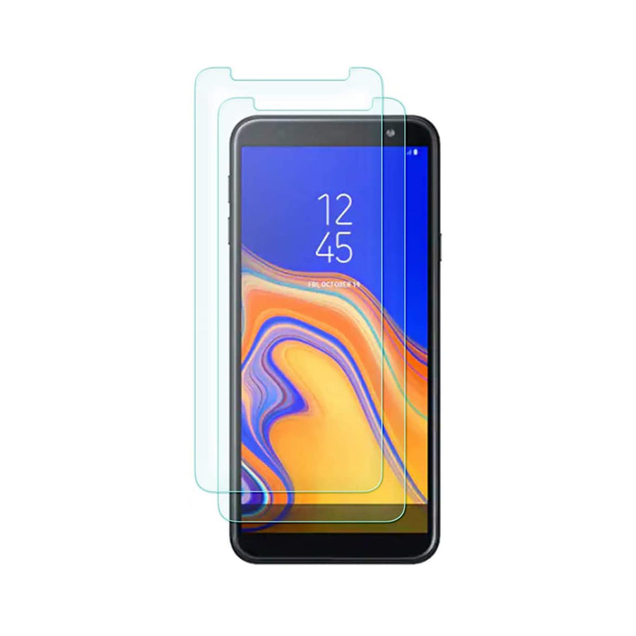 Raz Tech Tempered Glass for Samsung Galaxy J6 Plus SM-J610FN (Pack of 2)