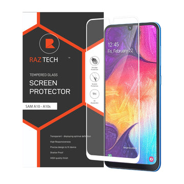 Raz Tech Full Cover Tempered Glass for Samsung Galaxy A10/A10s