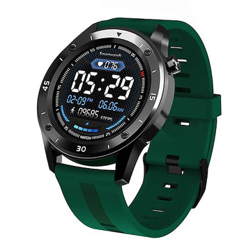 Smart Watch Heart Rate Monitor Tracker Fitness Sports Watch F22 - Green