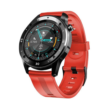 Smart Watch Heart Rate Monitor Tracker Fitness Sports Watch F22 - Orange