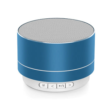 Mini Portable A10 Wireless Bluetooth Speaker Stereo Music Loudspeaker - Blue