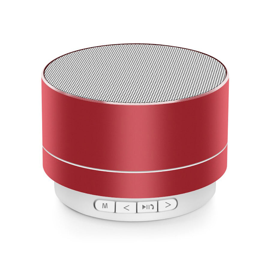 Mini Portable A10 Wireless Bluetooth Speaker Stereo Music Loudspeaker - Red