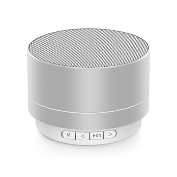 Mini Portable A10 Wireless Bluetooth Speaker Stereo Music Loudspeaker - Silver
