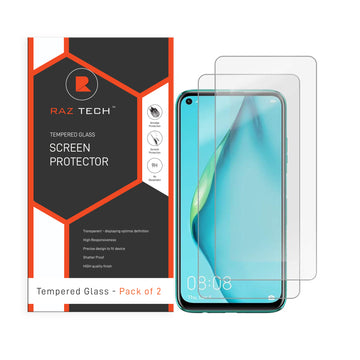 Tempered Glass for Screen Protector Huawei P40 lite (Pack of 2)