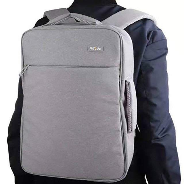 Multifunction 13L Leisure Computer Backpacks – Light Grey