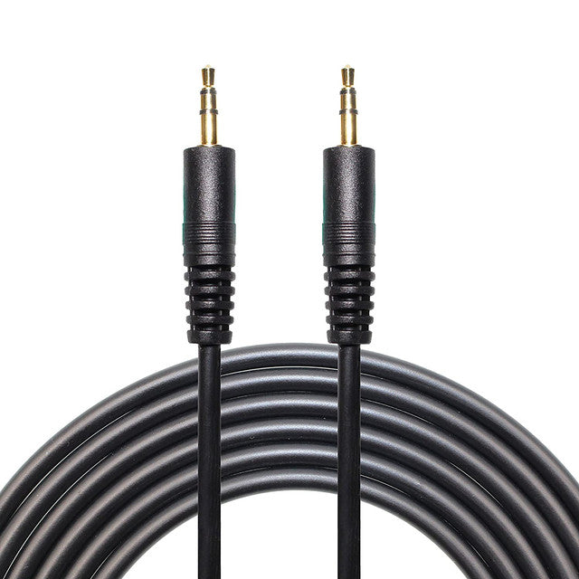 3.5mm Aux Audio Jack Extension Cable - Male to Male - 10 Meters