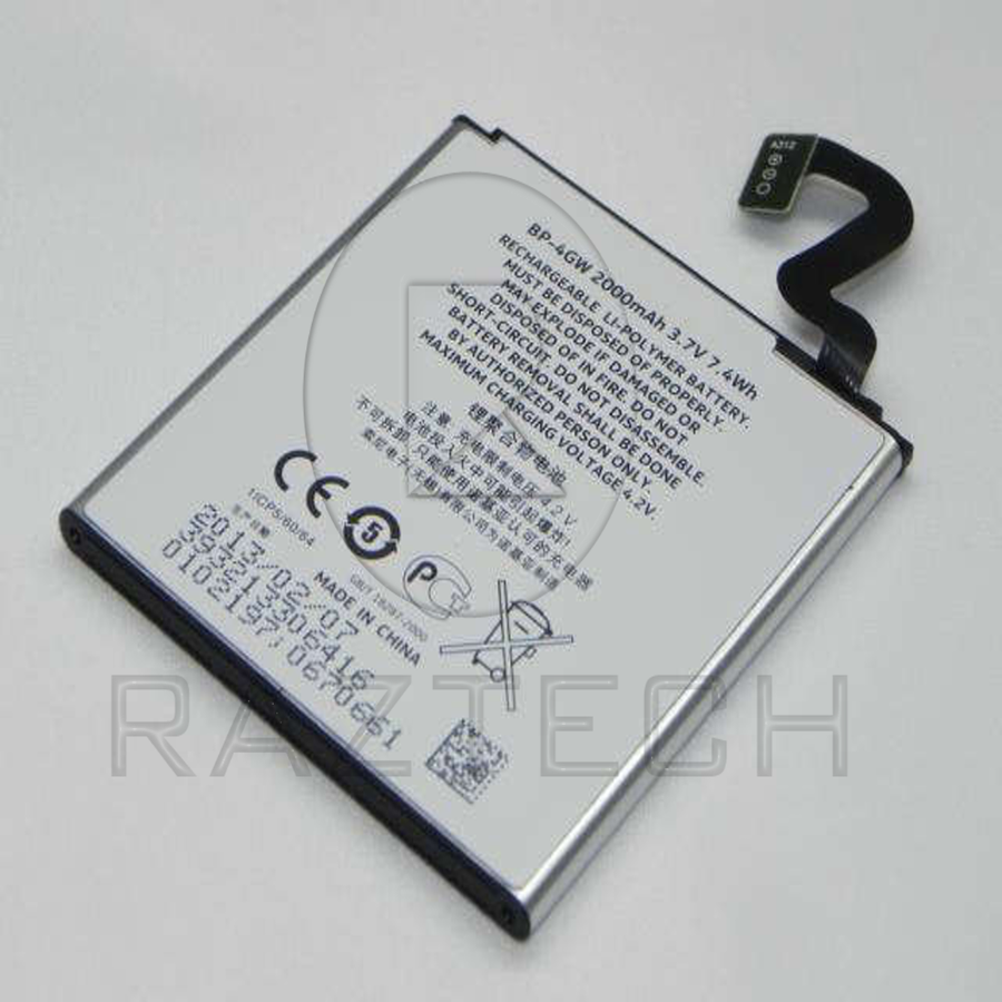 Raz Tech Battery for Nokia Lumia 920 - Battery - Raz Tech - 1