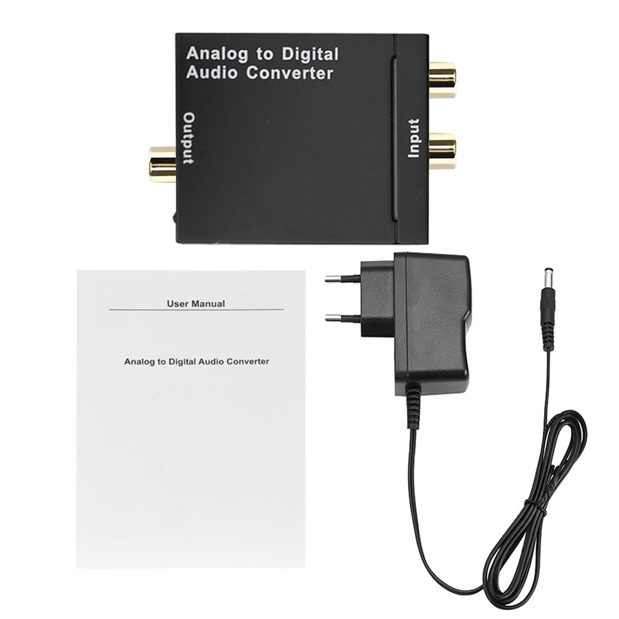 Analog to Digital Audio Converter - by Raz Tech
